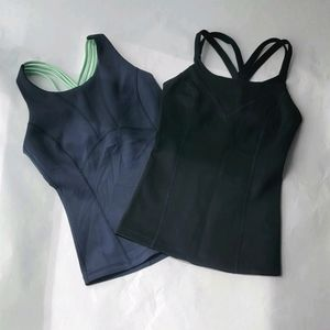 📦2 NWOT workout tops Sz S